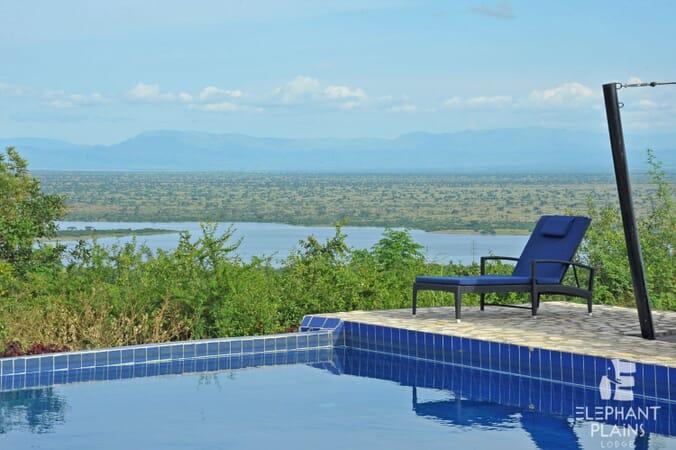 Elephant Plains Lodge pool