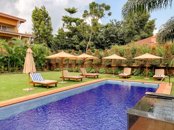 No.5 Boutique Hotel Entebbe Uganda luxury